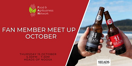 October FAN Member Meet Up tickets