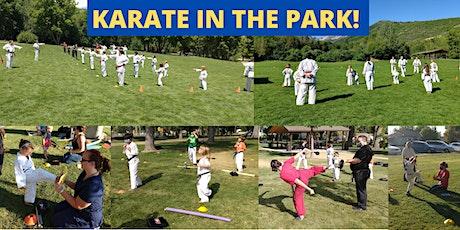 Preschool Kids Karate in the Park! Ages  3-6 tickets
