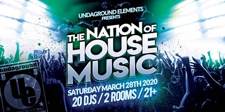 The Nation of HOUSE MUSIC /NEW DATE/April 24 tickets