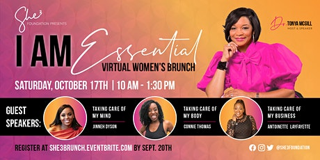 I Am Essential: She3 Women's Brunch tickets