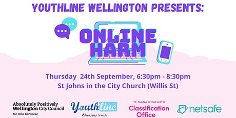 Youthline Wellington Presents: Online Harm tickets