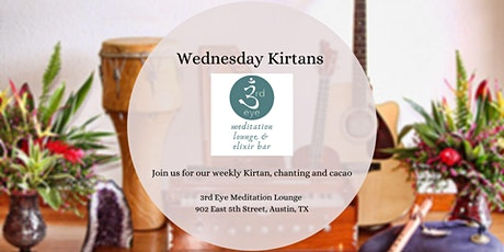 Weekly Wednesday Kirtans tickets