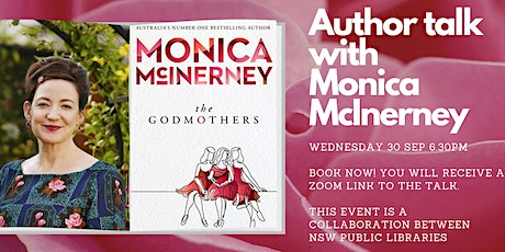 Author Talk with Monica McInerney - Cessnock City Library tickets