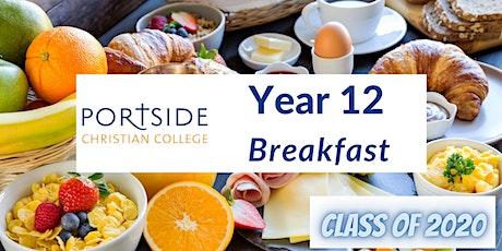 Portside Christian College - Year 12 Breakfast tickets