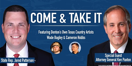 COME & TAKE IT 2020 with Representative Jared Patterson tickets