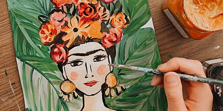 Learn to paint Frida Kahlo: Argo Art + Wine with Nicky Create tickets