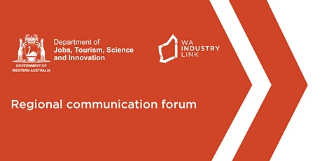 Regional Communication Forum - Esperance tickets