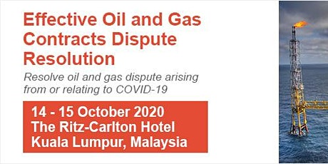Effective Oil and Gas Contracts Dispute Resolution tickets