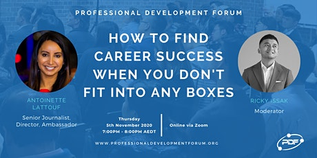 How To Find Career Success When You Don't Fit Into Any Boxes tickets