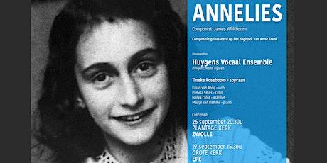 Annelies - Oratorium naar het dagboek van Anne Frank tickets
