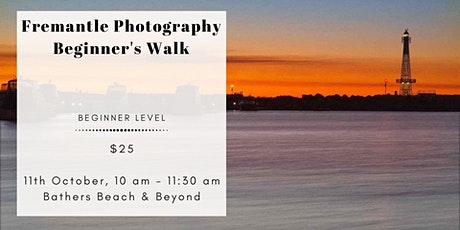 Fremantle Photography Beginner's Walk tickets