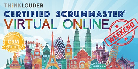 Virtual Live Online CSM | East Coast | Oct 3 - 4 tickets