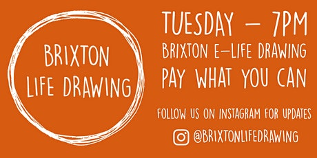 Online Life Drawing with Brixton Life Drawing tickets