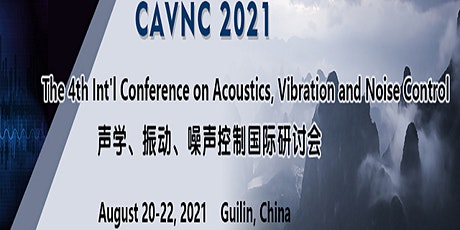 The 4th Int'l Conference on Acoustics, Vibration and Noise Control tickets
