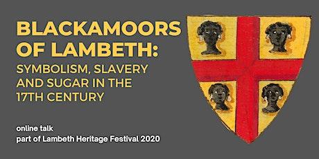 Blackamoors of Lambeth: symbolism, slavery and sug tickets