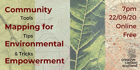 Community Mapping for Environmental Empowerment tickets