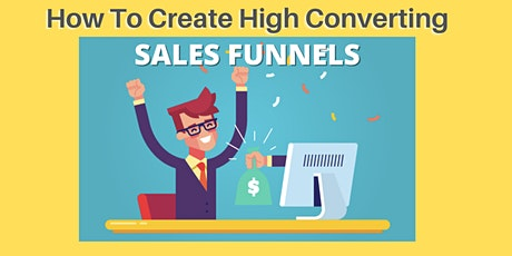 How To Create High Converting Sales Funnels Using Point-and-Click Software tickets