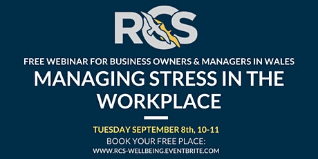 Free Webinar: Managing Stress in the Workplace tickets