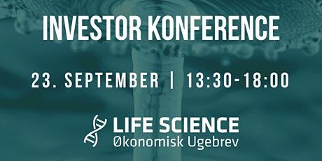 Life Science Investor Konference tickets