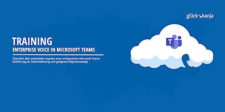 Enterprise Voice in Microsoft Teams via Teams Meeting Tickets