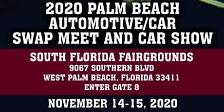 2020 Palm Beach Automotive/Car Swap Meet and Car Show tickets
