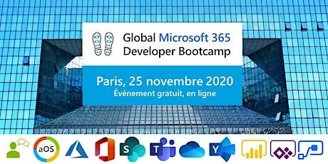 Global Microsoft 365 Developer Bootcamp 2020 - Paris, 25 novembre 2020 tickets