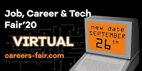 Job, Career & Tech Fair Vilnius / Virtual tickets