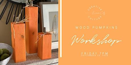 Workshop    Wood Pumpkins tickets