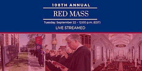 2020 Red Mass - LIVE STREAMED tickets