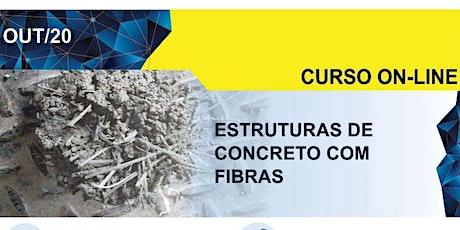 Curso Online: Estruturas de Concreto com Fibras ingressos