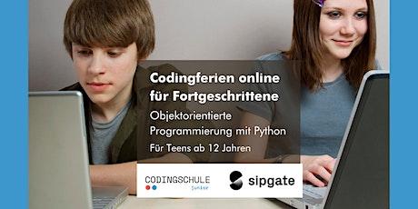 Codingferien Online - Fortgeschrittene Tickets