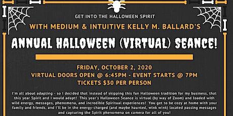 Annual Halloween (Virtual) Seance w/Kelly M. Ballard tickets
