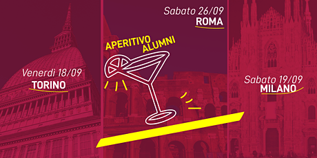 Milano | Aperitivo Alumni Settembre 2020 biglietti