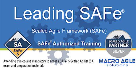 Leading SAFe® 5.0 (SA) (Scaled Agile Framework)- Virtual Instructor Led tickets