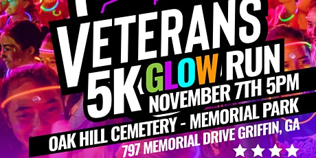 2nd ANNUAL VETERANS 5K GLOW RUN/WALK tickets