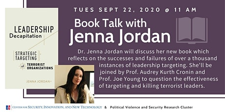 Book Talk: Leadership Decapitation with Jenna Jordan tickets