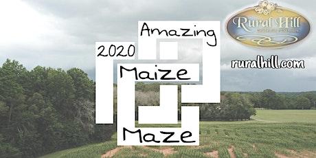 2020 Amazing Maize Maze - SEPTEMBER tickets