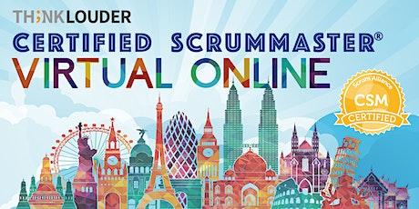 Virtual Live Online CSM | East Coast | Oct 5-6 tickets