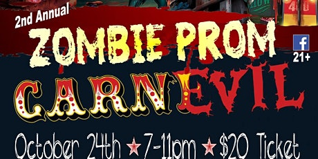 2020 Zombie Prom: CarnEVIL tickets