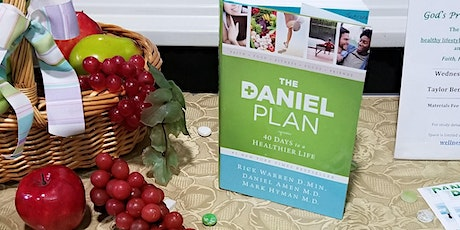 "In Person AND Virtual ""The Daniel Plan - 40 Days to A Healthier Life"" Class tickets"