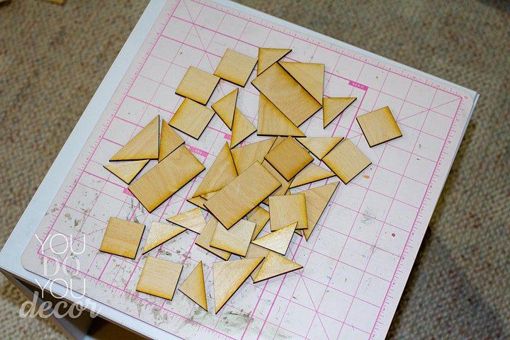 Arts and Crafts: Wood Barn Quilt for Parents and Kids image