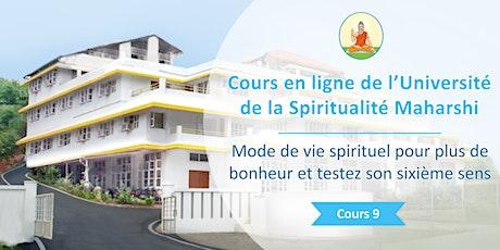 Mode de vie spirituel pour plus de bonheur et testez son sixième sens billets
