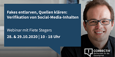Tag 2 – Verifikation von Social-Media-Inhalten
