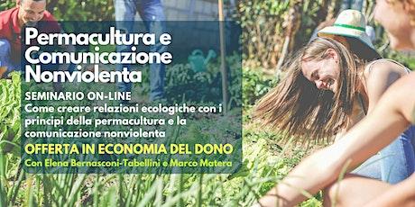 Laboratorio online: Permacultura e Comunicazione Nonviolenta biglietti