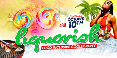 Liquorish - Food Inclusive Cooler Party tickets