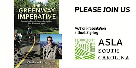 The Greenway Imperative: Author Presentation by Charles Flink, FASLA tickets