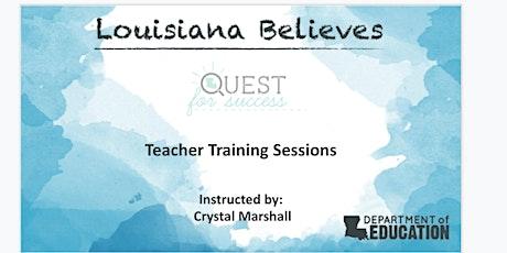 Quest for Success:  Virtual Teacher Training  (2021) tickets