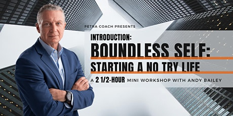 Introduction - Boundless Self: Starting a No Try Life tickets