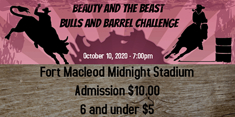 Beauty and the Beast Bulls and Barrels Challenge tickets