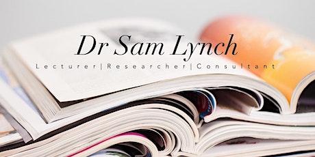 Dr Sam Lynch PhD Essentials tickets
